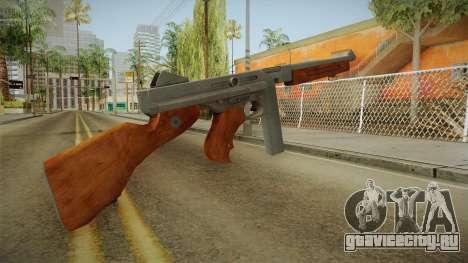 Thompson M1A1 для GTA San Andreas второй скриншот