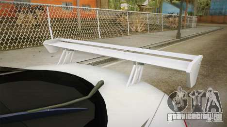 Mitsubishi Eclipse GSX для GTA San Andreas вид изнутри