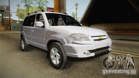 Chevrolet Vitara для GTA San Andreas вид справа