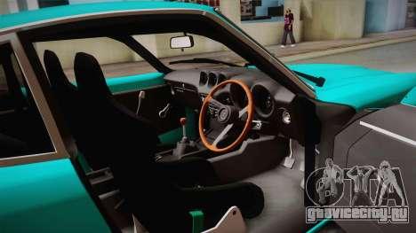 Nissan Fairlady 240Z 432 Rocket Bunny 1969 для GTA San Andreas вид сбоку