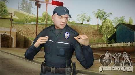 Turkish Police Officer Long Sleeves для GTA San Andreas