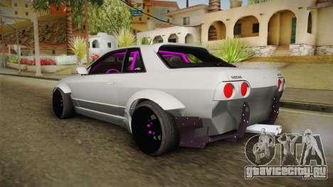 Nissan Skyline R32 Rocket Bunny для GTA San Andreas вид слева