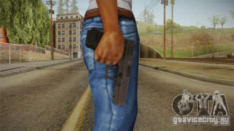 Glock 18 3 Dot Sight Blue для GTA San Andreas третий скриншот