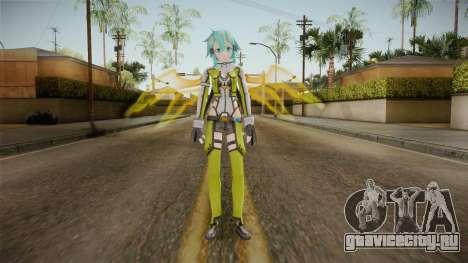 Sinon Skin v2 для GTA San Andreas второй скриншот