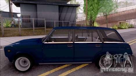 ВАЗ 21046 для GTA San Andreas вид слева