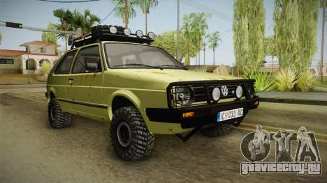 Volkswagen Golf Mk2 Country для GTA San Andreas