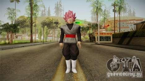 DBX2 - Goku Black SSJR v2 для GTA San Andreas второй скриншот