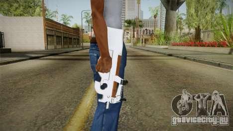 Chrome P90 для GTA San Andreas третий скриншот