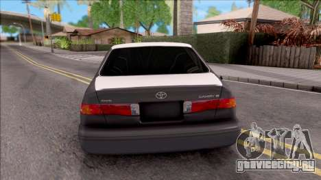 Toyota Camry 2002 для GTA San Andreas вид сзади слева