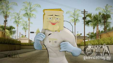 Powdered Toast Man для GTA San Andreas
