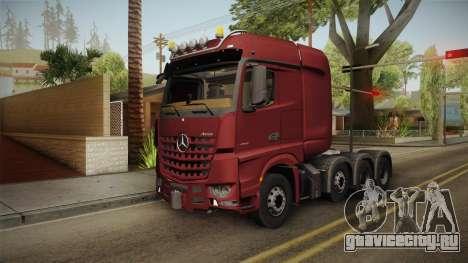 Mercedes-Benz Arocs SLT 4163 8x4 Euro 6 v1 для GTA San Andreas