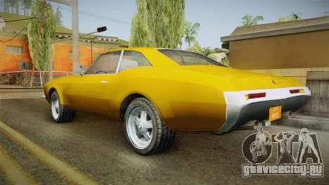 Driver: PL - Andec для GTA San Andreas вид слева