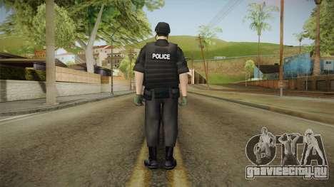New SWAT Skin для GTA San Andreas третий скриншот