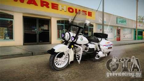 Harley-Davidson Police Bike YRP для GTA San Andreas