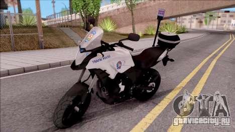 Honda CB500X Turkish Traffic Police Motorcycle для GTA San Andreas
