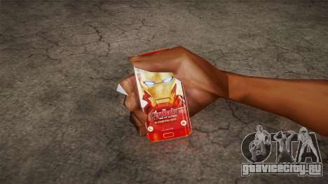 Samsung Galaxy S6 Ironman Limited Edition для GTA San Andreas