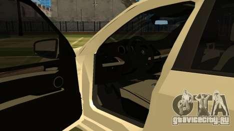 BMW X5M v1.2 для GTA San Andreas вид справа