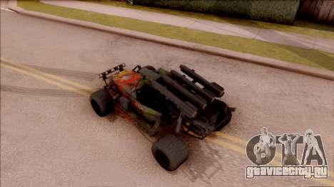 Chenowth FAV from Mercenaries 2: World in Flames для GTA San Andreas вид сзади