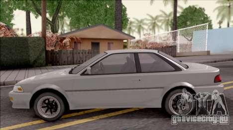 Toyota Corolla Levin GT-APEX для GTA San Andreas вид слева