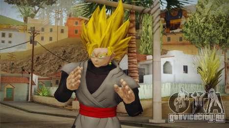 DBX2 - Goku Black SSJ2 v2 для GTA San Andreas