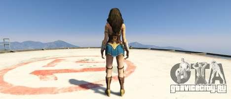 Wonder Woman 2017 1.2 для GTA 5 второй скриншот