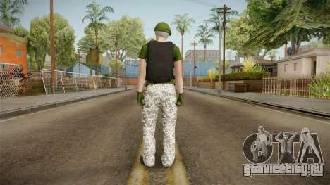 Gunrunning Female Skin v1 для GTA San Andreas третий скриншот