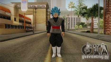 DBX2 - Goku Black SSJB v2 для GTA San Andreas второй скриншот