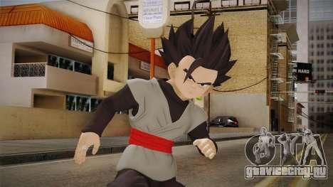 Dragon Ball Xenoverse 2 - Teen Gohan Black для GTA San Andreas