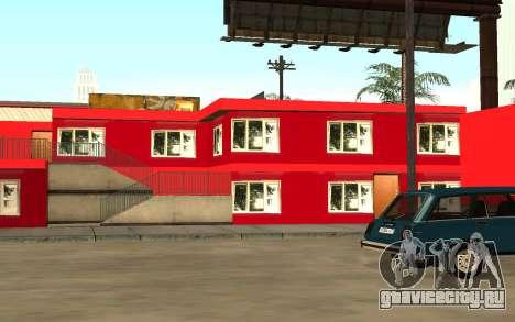 Новый текстуры отеля в Айдлвуде для GTA San Andreas третий скриншот