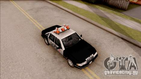 Police Car from GTA 3 для GTA San Andreas вид справа
