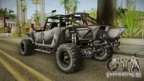Ghost Recon Wildlands - Unidad AMV No Minigun v2 для GTA San Andreas вид слева