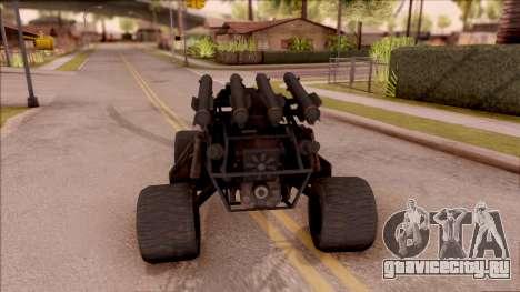 Chenowth FAV from Mercenaries 2: World in Flames для GTA San Andreas вид сзади слева