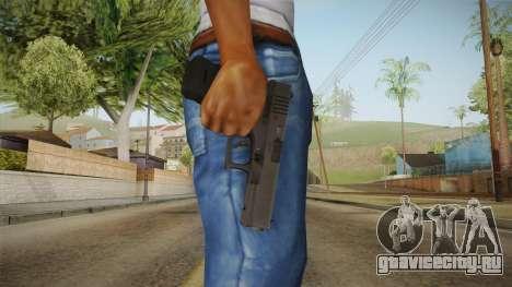 Glock 17 3 Dot Sight Ultraviolet Purple для GTA San Andreas третий скриншот