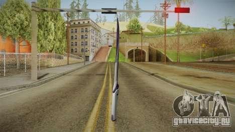 Mass Effect: Andromeda - Asari Sword Purple для GTA San Andreas третий скриншот