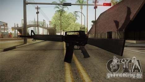 COD Advanced Warfare M16 для GTA San Andreas второй скриншот