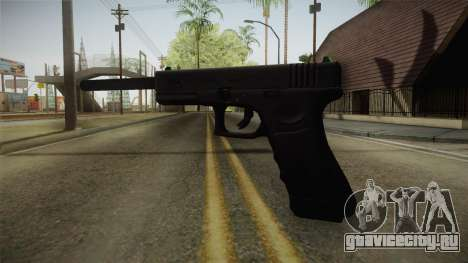 Glock 21 3 Dot Sight with Long Barrel для GTA San Andreas второй скриншот
