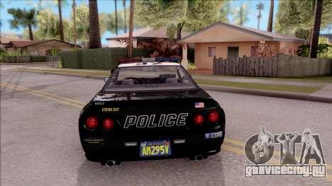 GTA V Annis Elegy Retro Interceptor для GTA San Andreas вид сзади слева