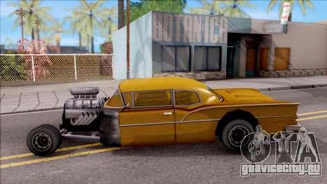 Tornado Rat Rod для GTA San Andreas вид слева