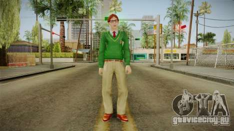 Thad Carlson from Bully Scholarship для GTA San Andreas второй скриншот