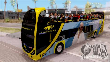 Scania Metalsur Starbus 2 Descapotable для GTA San Andreas