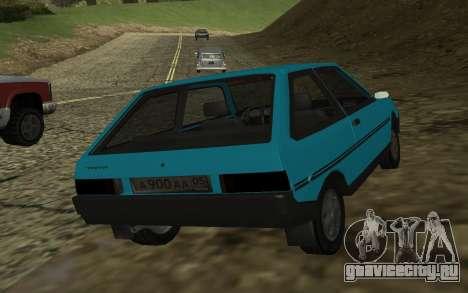 ЗАЗ 1102 Таврия для GTA San Andreas вид справа