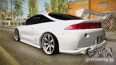 Mitsubishi Eclipse GSX для GTA San Andreas вид слева