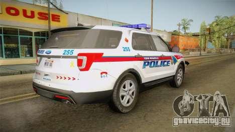 Ford Explorer 2016 YRP для GTA San Andreas вид слева
