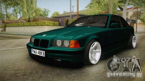 BMW M3 E36 Coupe для GTA San Andreas вид справа