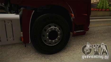 Mercedes-Benz Arocs SLT 4163 8x4 Euro 6 v1 для GTA San Andreas вид сзади