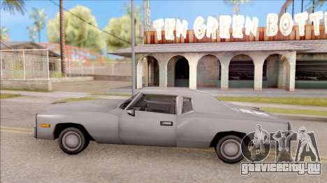 Esperanto from GTA 3 для GTA San Andreas вид слева