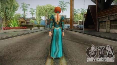 Princess Fiona для GTA San Andreas третий скриншот