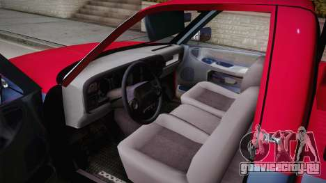 Dodge Ram 2500 Towtruck для GTA San Andreas вид справа