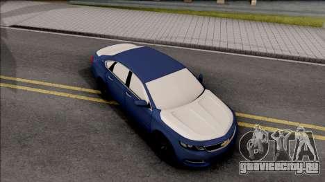 Chevrolet Impala LS 2017 для GTA San Andreas вид справа