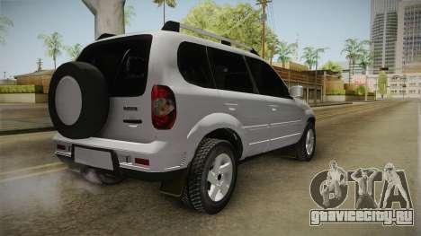 Chevrolet Vitara для GTA San Andreas вид сзади слева